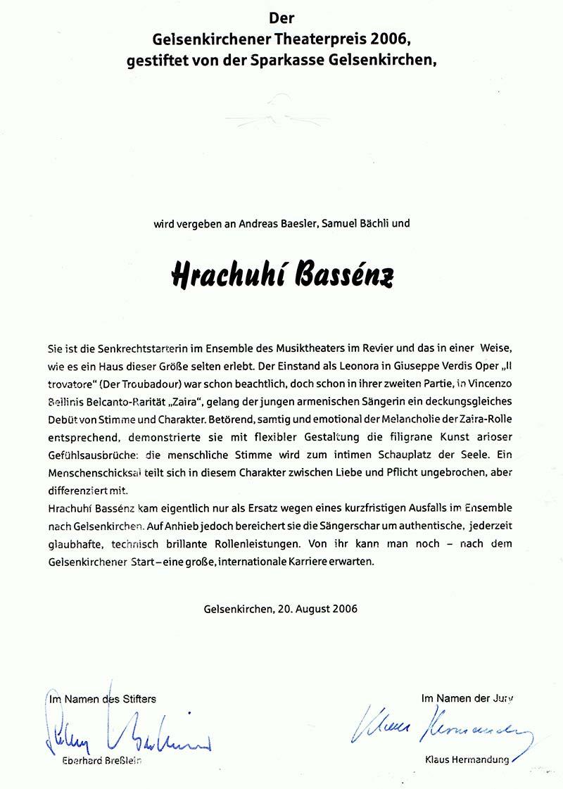 Gelsenkirchener-Theaterpreis
