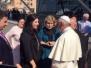 Das treffen mit Papst Franziskus